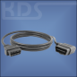 Preview: OBD-2 Cable-Extension D-2 / 1.8m HiQ - (J1962M right-angle -> J1962F)
