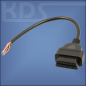 Preview: OBD-2 Cable 'cut off' H / 0.3m - (J1962F -> open end) - (Female)
