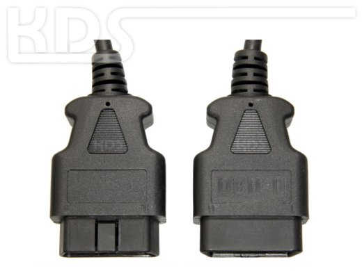 OBD-2 Cable-Extension C-3 / 4.5m - HiQ - (J1962 M->F)