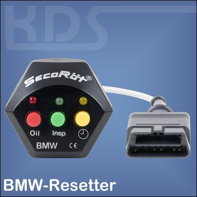 Service-Resetter for BMWs with OBD-2 (without CAN Bus)