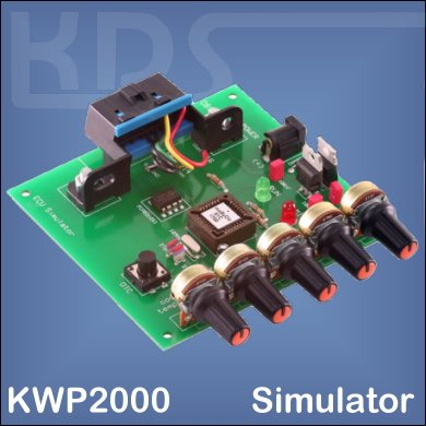 OBD2-Simulator for KWP 2000 (mOByDic 1110)