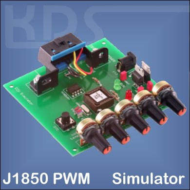 OBD2-Simulator for J1850 PWM (mOByDic 1210)