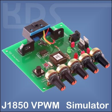 OBD2-Simulator for J1850 VPWM (mOByDic 1310)
