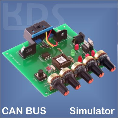 OBD2-Simulator for CANBus / ISO 15765-4 (mOByDic 1610)