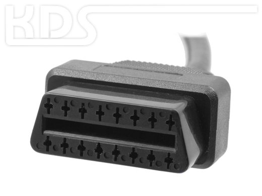OBD-2 Cable-Extension M / 0.40m - (J1962M Typ B M->F)