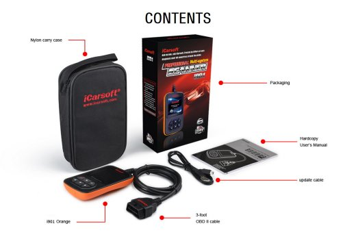 iCarsoft i901 for Hyundai / KIA - OBD Diagnostic Tool
