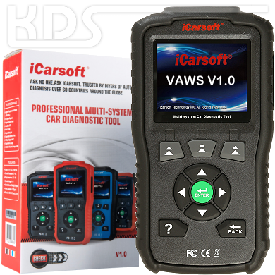 iCarsoft VAWS v1.0 BLACK