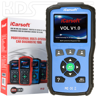 iCarsoft VOL v1.0 BLAU