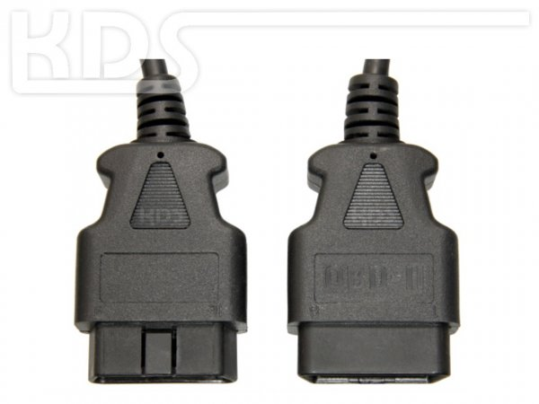OBD-2 Cable-Extension C-1 / 1.5m - HiQ - (J1962 M->F)