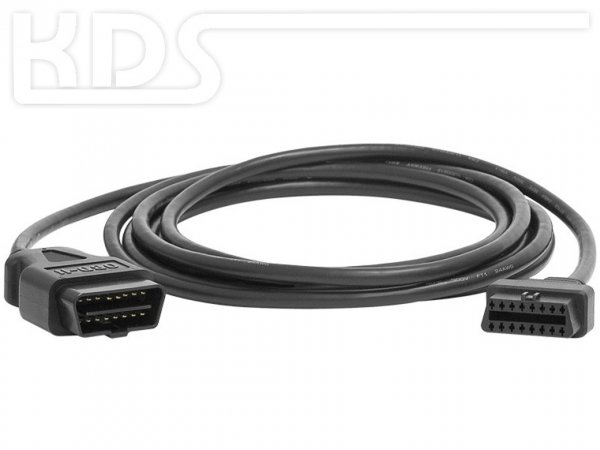 OBD-2 Cable-Extension C-2 / 3.0m - HiQ - (J1962 M->F)