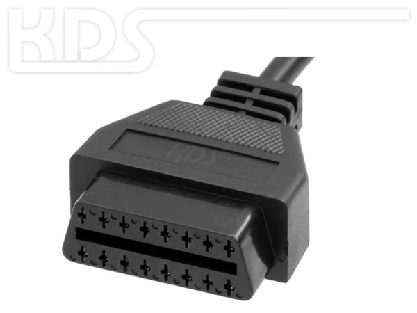 OBD-2 Kabel Y-Adapter K-1 - (J1962 M-2xF) // Y-Splitter