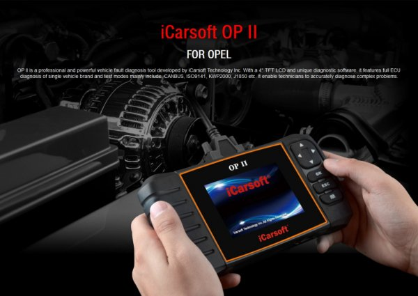 iCarsoft OP II for Opel / Vauxhall