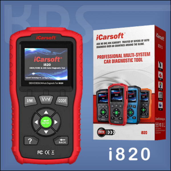 iCarsoft i820 RED