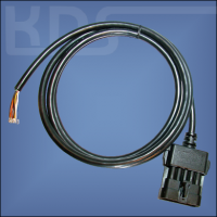 OBD Cable Opel 'cut off' (Opel10M -> open end)