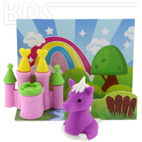 Eraser 'Unicorn with Castle'  -  Trendhaus Collection #946133