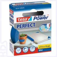 TESA Gewebeband extra Power Perfect, 19mm x 2,75m, blau